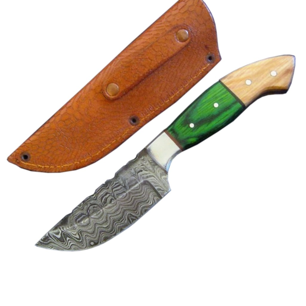 Drop point handmade knife
