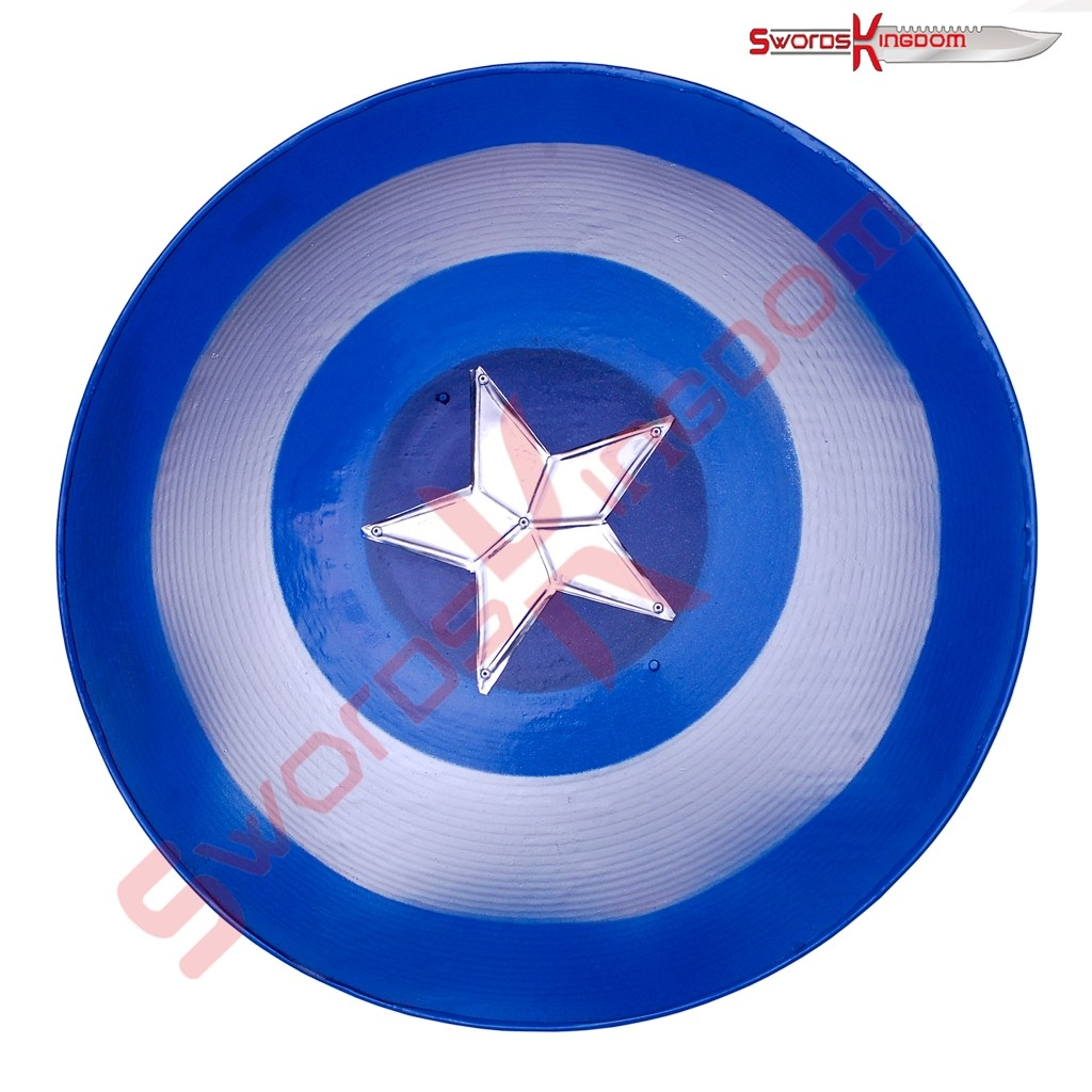 Blue Captain America Shield Replica