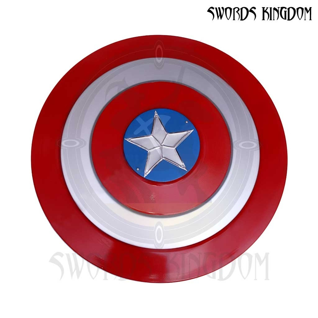 Captain America Shield Red 29 Inches edition