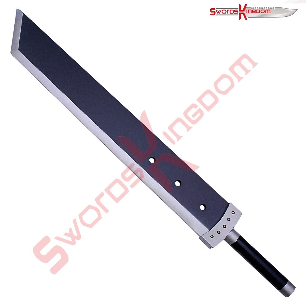 Cloud Buster Sword Wooden Edition Black
