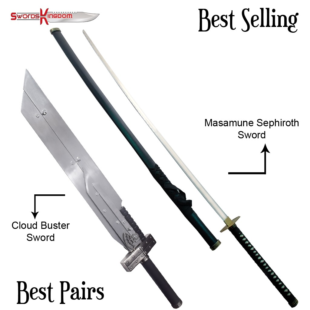 Final Fantasy Masamune Sephiroth S Sword Cloud Advent Children Buster Fusion Sword