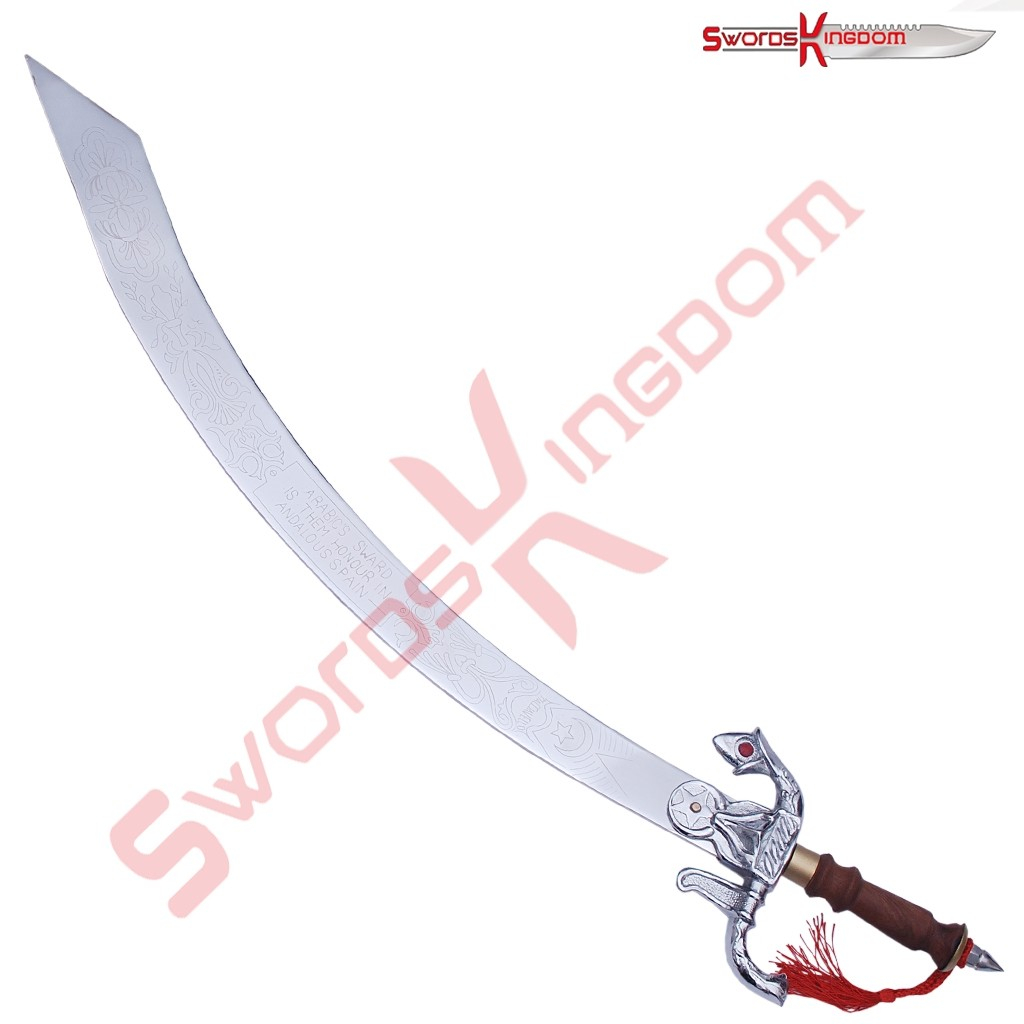 Functional Arabian Belly Dance Scimitar Sword 35 Inches