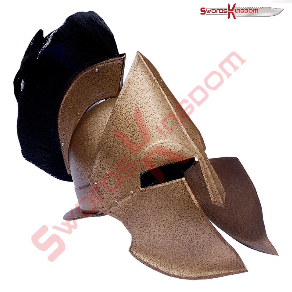 Functional King Leonidas Spartan Helmet Replica from 300