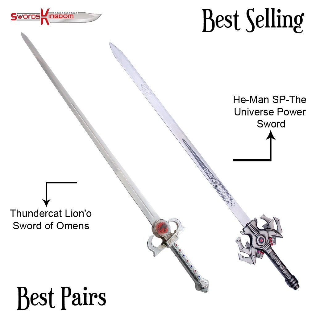 He man Power Sword Replica 42 Inches & ThunderCats Sword of Omens Replica