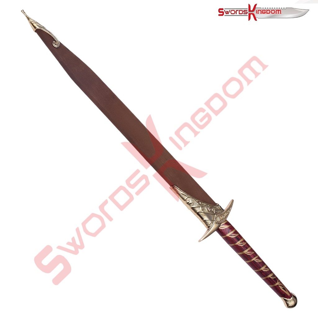Hobbit Sting Sword Replica Gold Plated