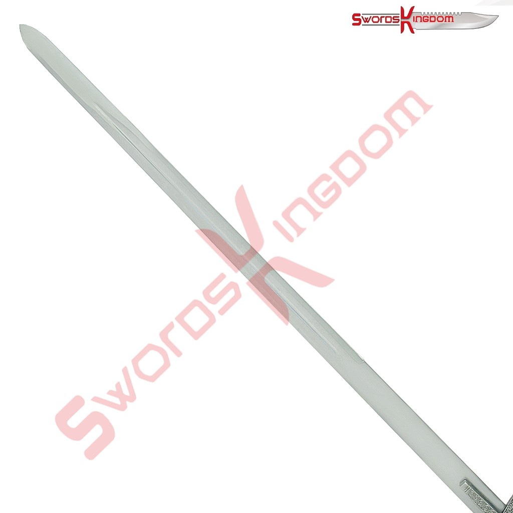 Medieval Inspired Black Knight Claymore Sword