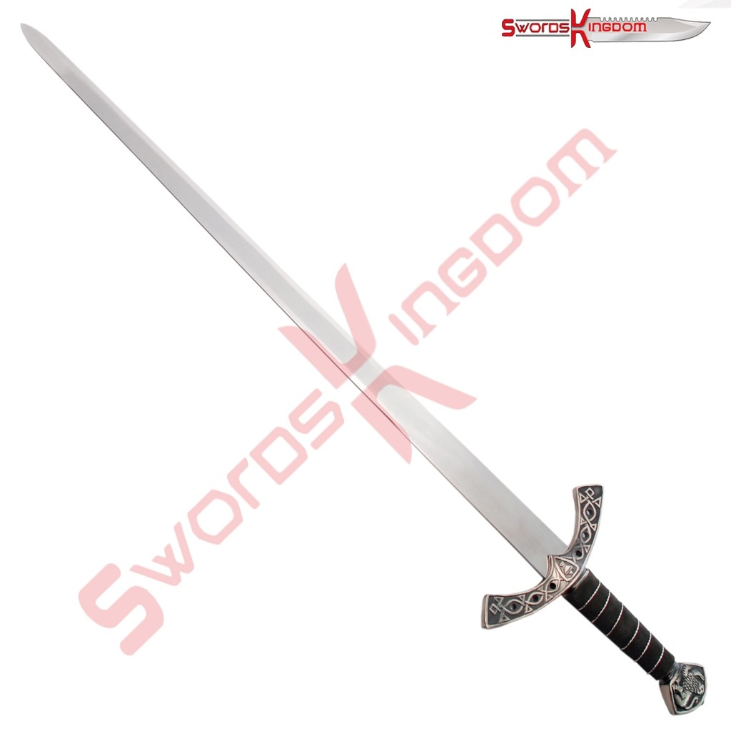Medieval Inspired Black Knight Ornamental Sword