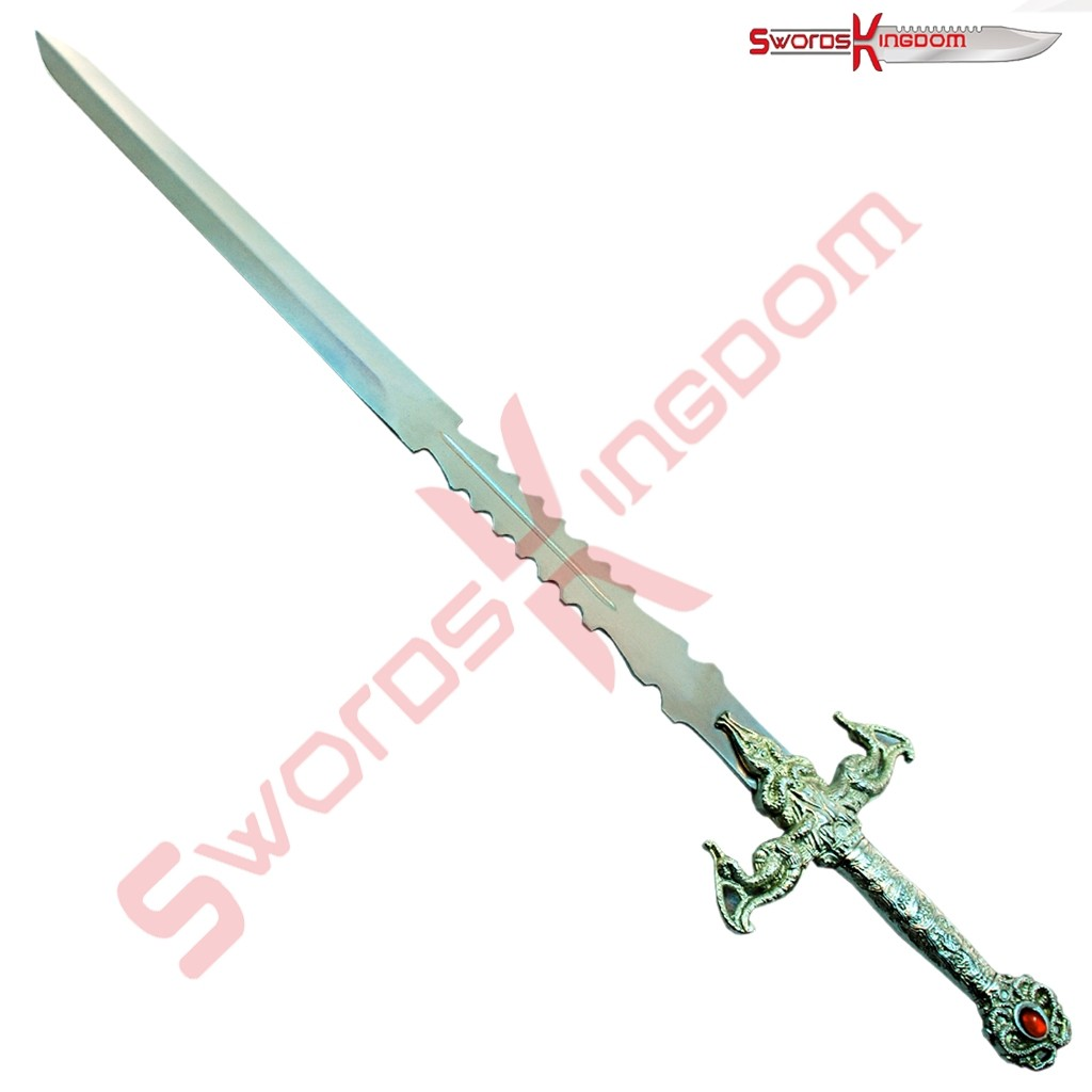 Medieval Themed Fantasy Sword with Antique Finish