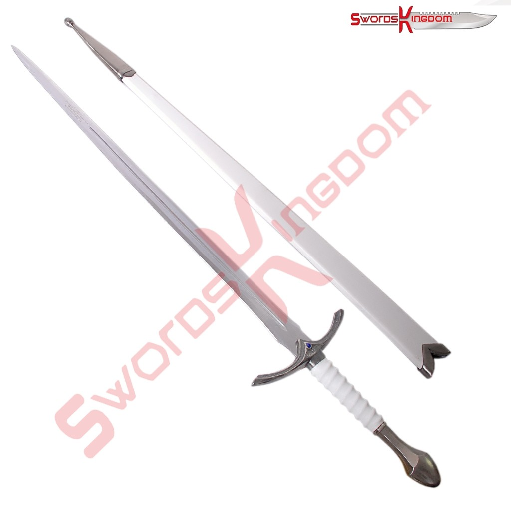 White Glamdring Sword of Gandalf Replica