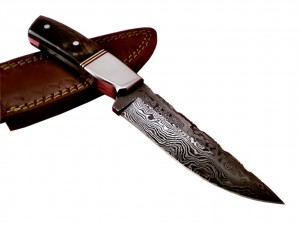 Damascus Hand Made Full Tang Pocket Knife