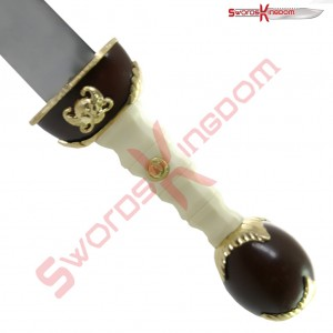Gladiator Movie Maximus Sword Gold finish